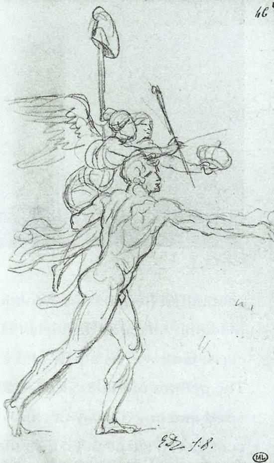 Jacques Louis David 1748-1825 Jacques-Louis+David+-+Tutt%2527Art%2540+-+%25281%2529