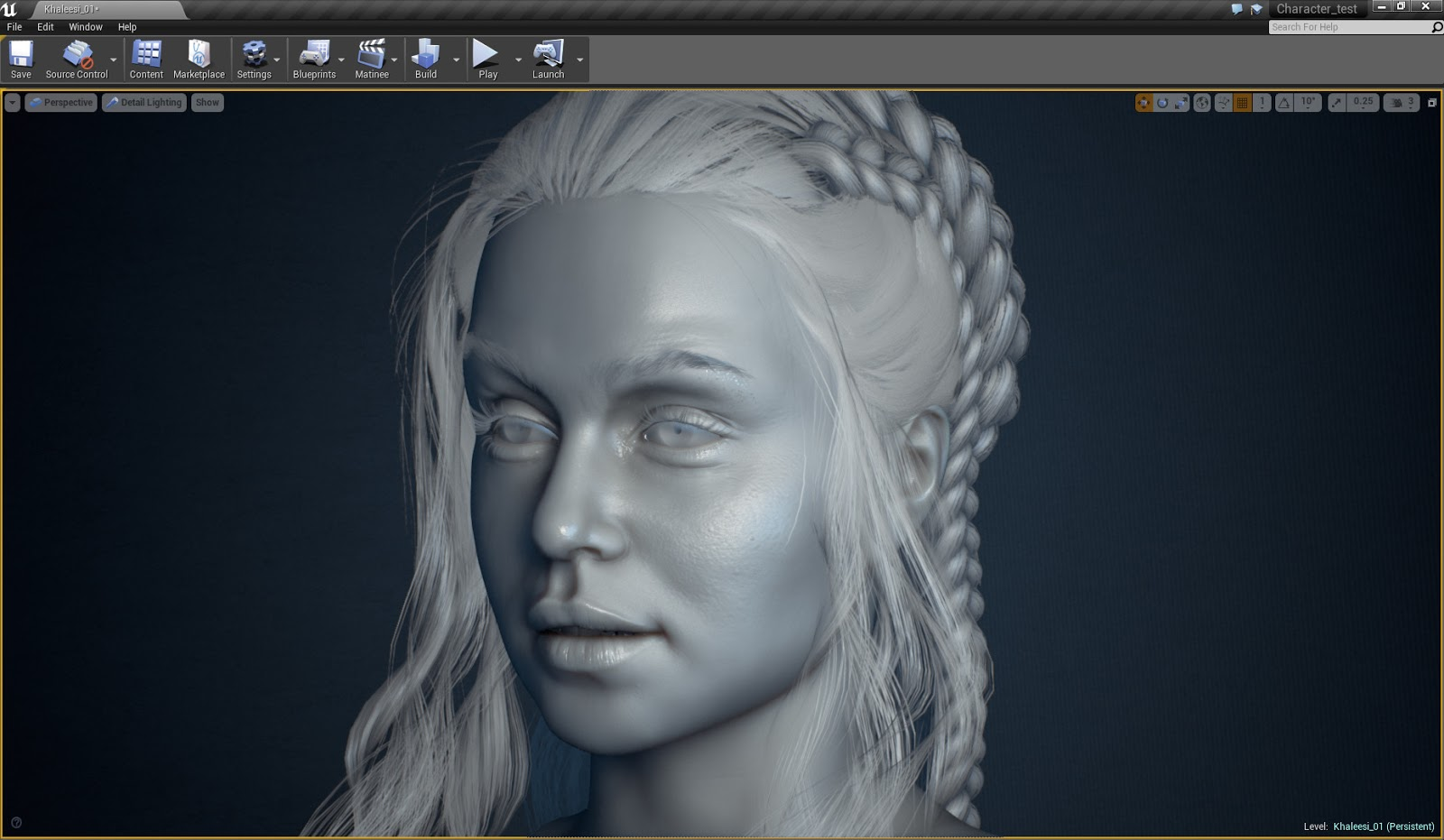 Character Design Unreal 4 : Realtime character in unreal cg daily news