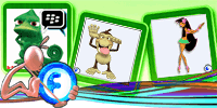 Animations Display Picture – Bunglon – Funny Monkey – Dancing Hula Hula | gif | Blackberry Messenger Avatar | Fadli Jabir | Blackberry animasi | Funny Cartoons | Blackberry Animations