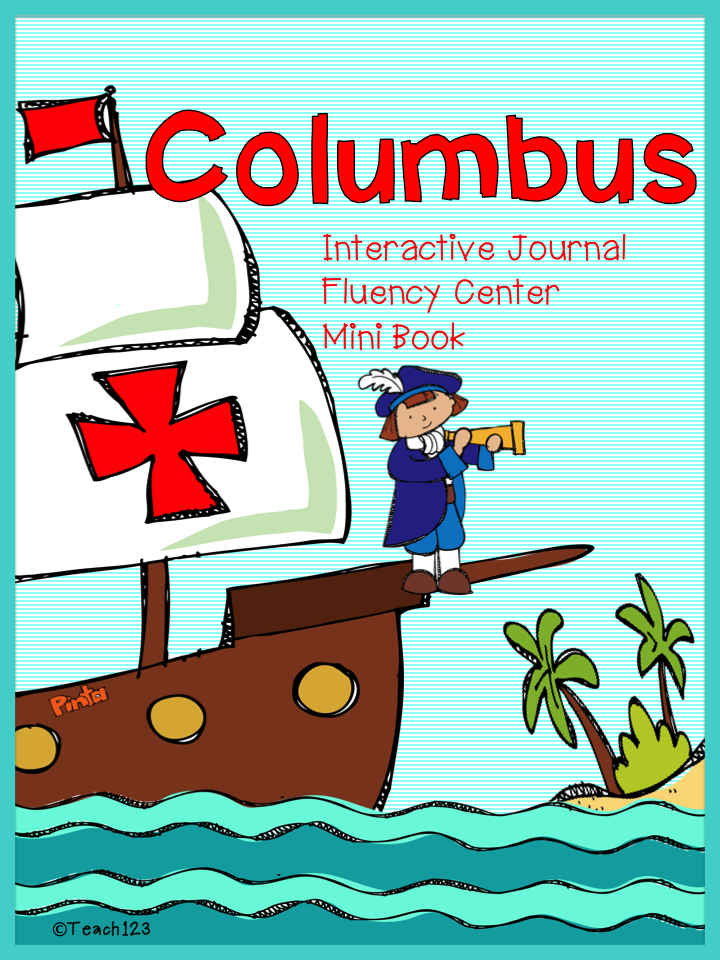 Columbus: Fluency, Interactive Journal, & Mini Book