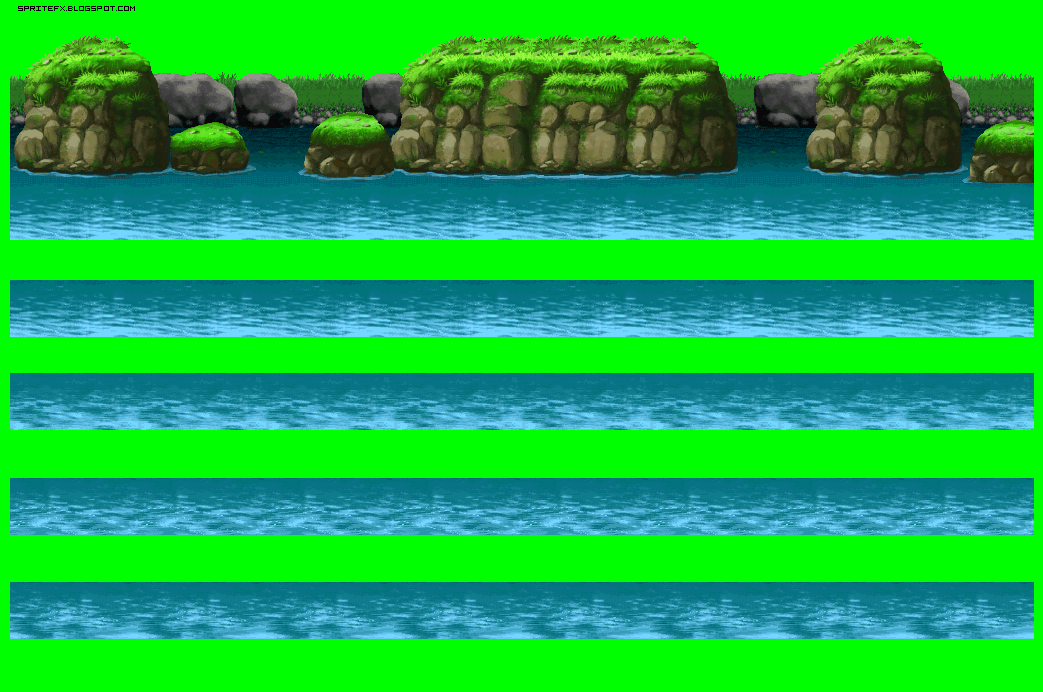 sprite fx  sprite background water
