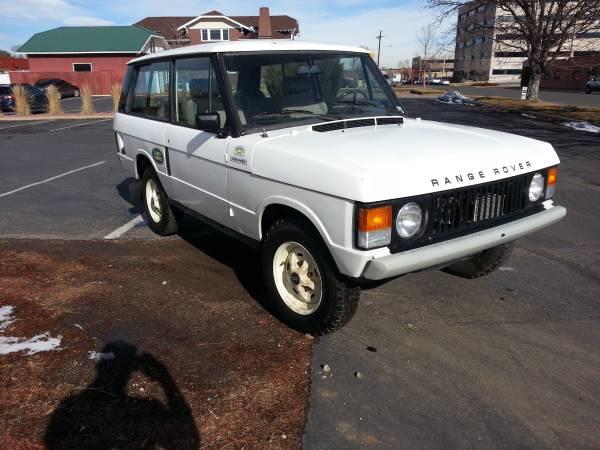 Rare 1980 Range Rover Classic