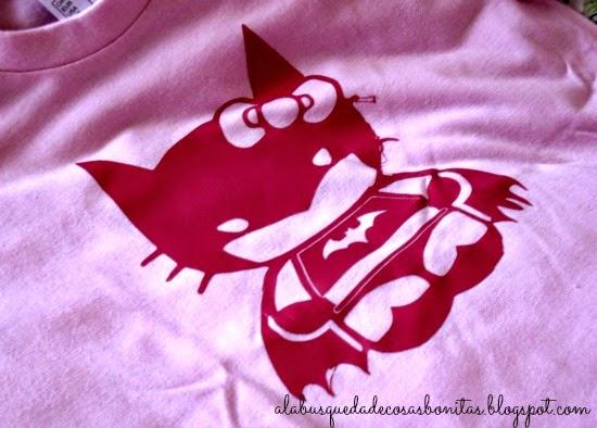 camiseta con vinilo con Silhouette