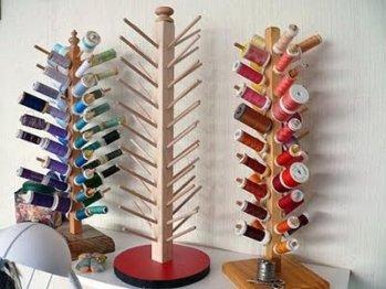 DIY ORGANIZAR BOBINAS DE HILO LAPICES DEL IKEA IDEAS