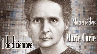 Marie Curie en sellos ficción