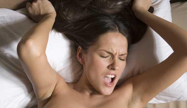 a woman orgasm