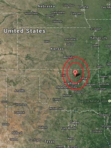 Magnitude 3.1 Earthquake of Pawnee, Oklahoma 2014-10-13