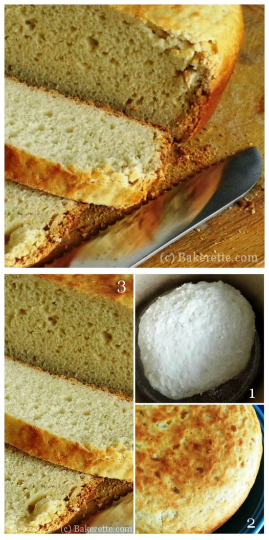 Homemade White bread in the Crock Pot from Bakerette, found on SlowCookerFromScratch.com