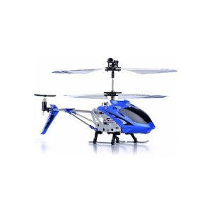 Pre-kindergarten toys - Syma S107/S107G R/C Helicopter - BLUE