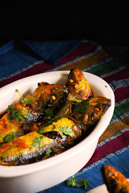 how to cook nadan sardine fish curry recipe