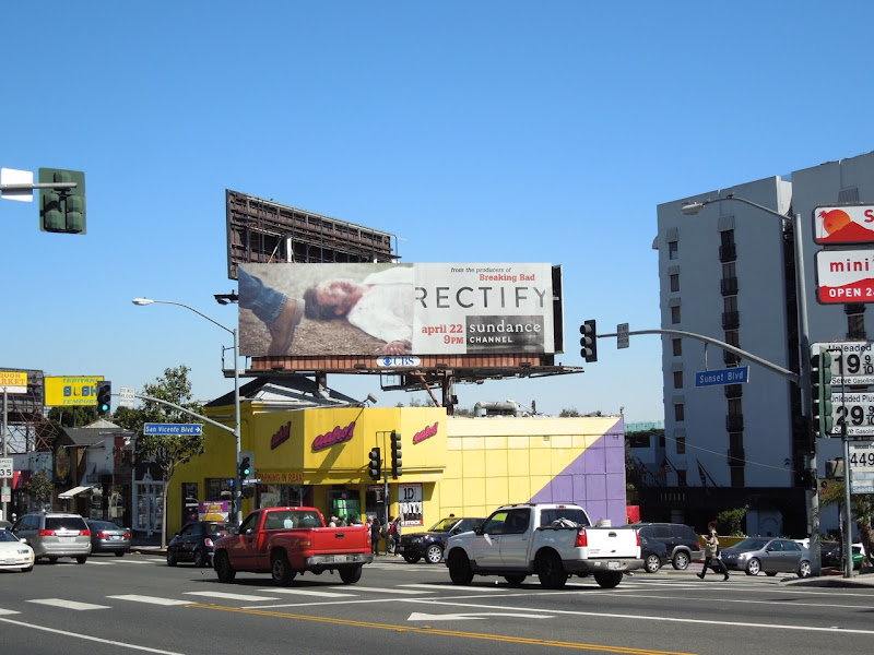 Rectify TV billboard