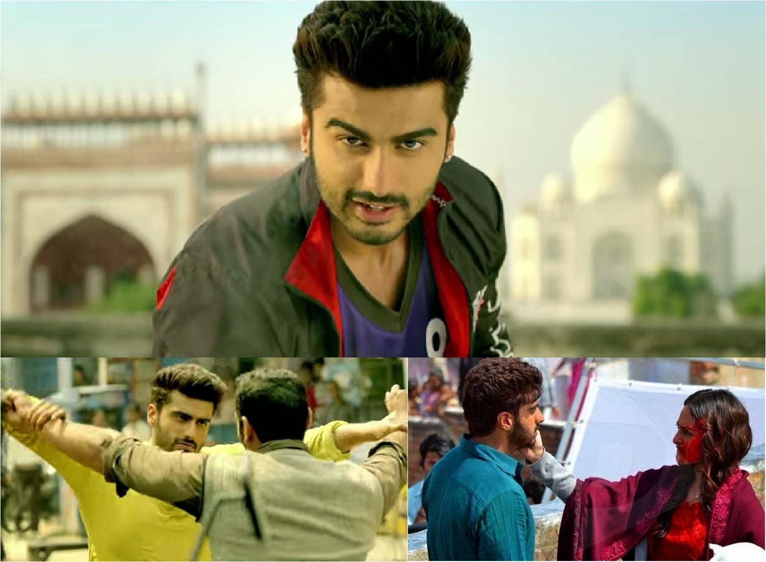 Superman Arjun Kapoor, Radhika Sonakshi Sinha, Manoj Bajpai starrer movie, 'Tevar' trailer 2015
