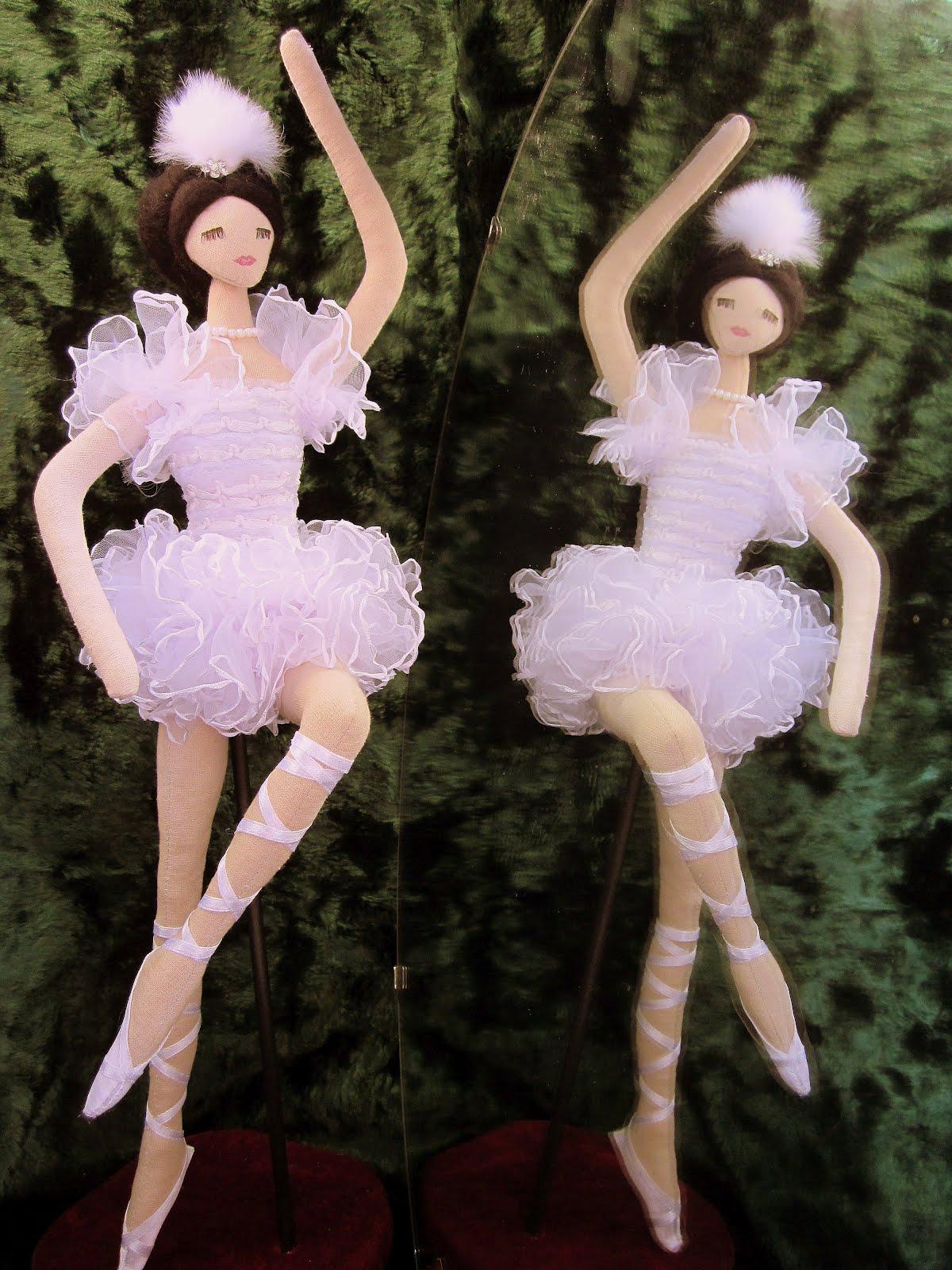 Изготовление балеринки своими руками