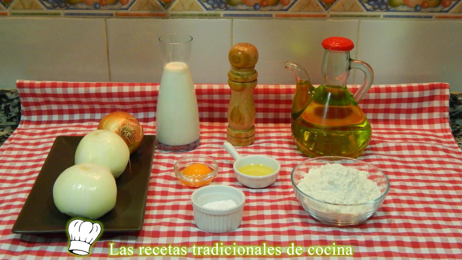 Receta de aros de cebolla