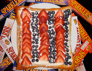 Festive Fourth of July Tart