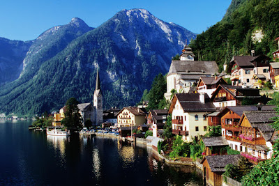 Picturesque Hallstat, Austria