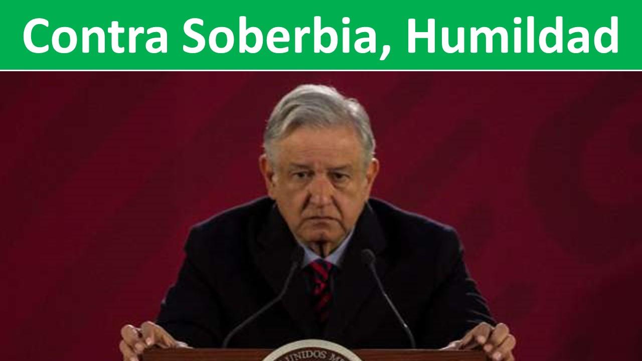 Contra Soberbia, Humildad