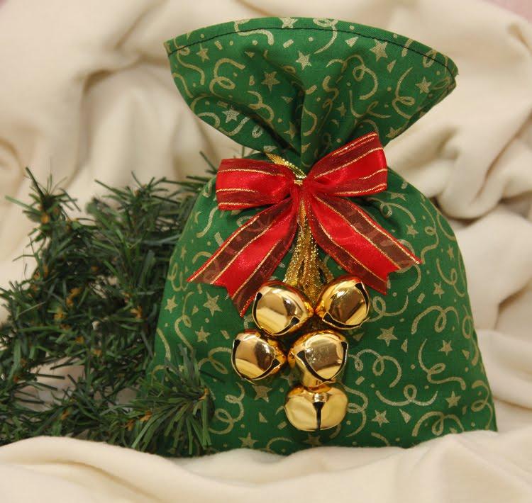Как сделать новогодние мешочки своими руками 52