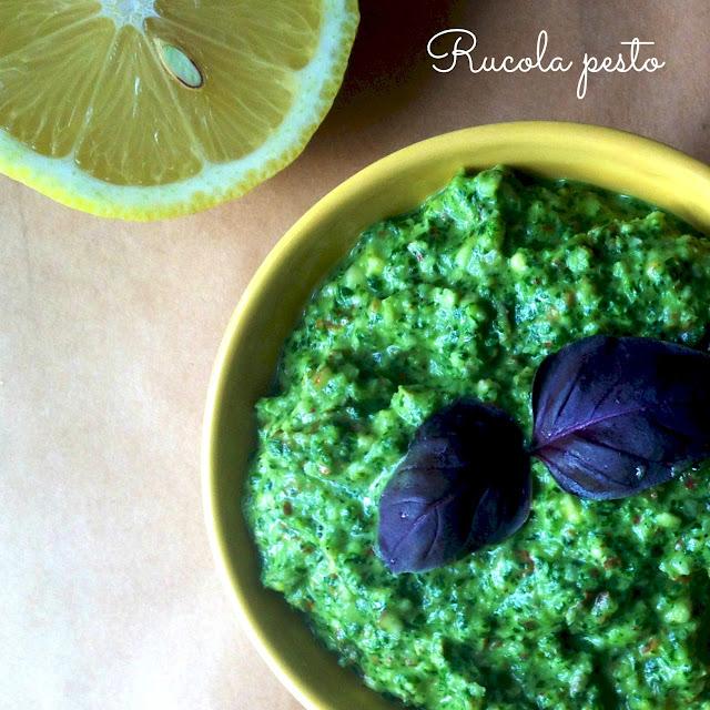 Rucola Pesto - Mit livs kogebog