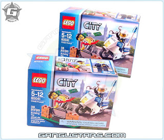 EGO City Crook pursuit cheap low cost Lego toys
