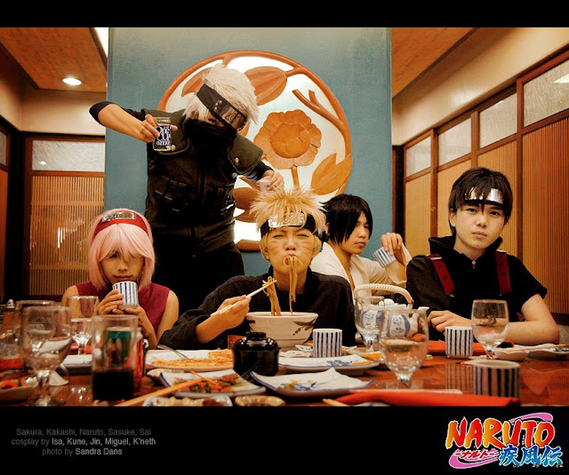 naruto costum cosplayers