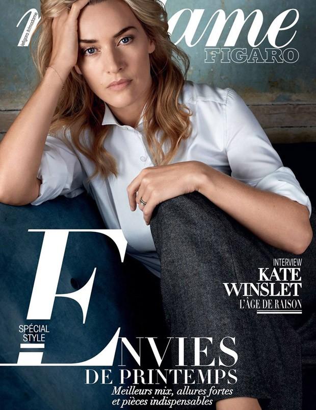 Kate Winslet goes stylish for Madame Figaro
