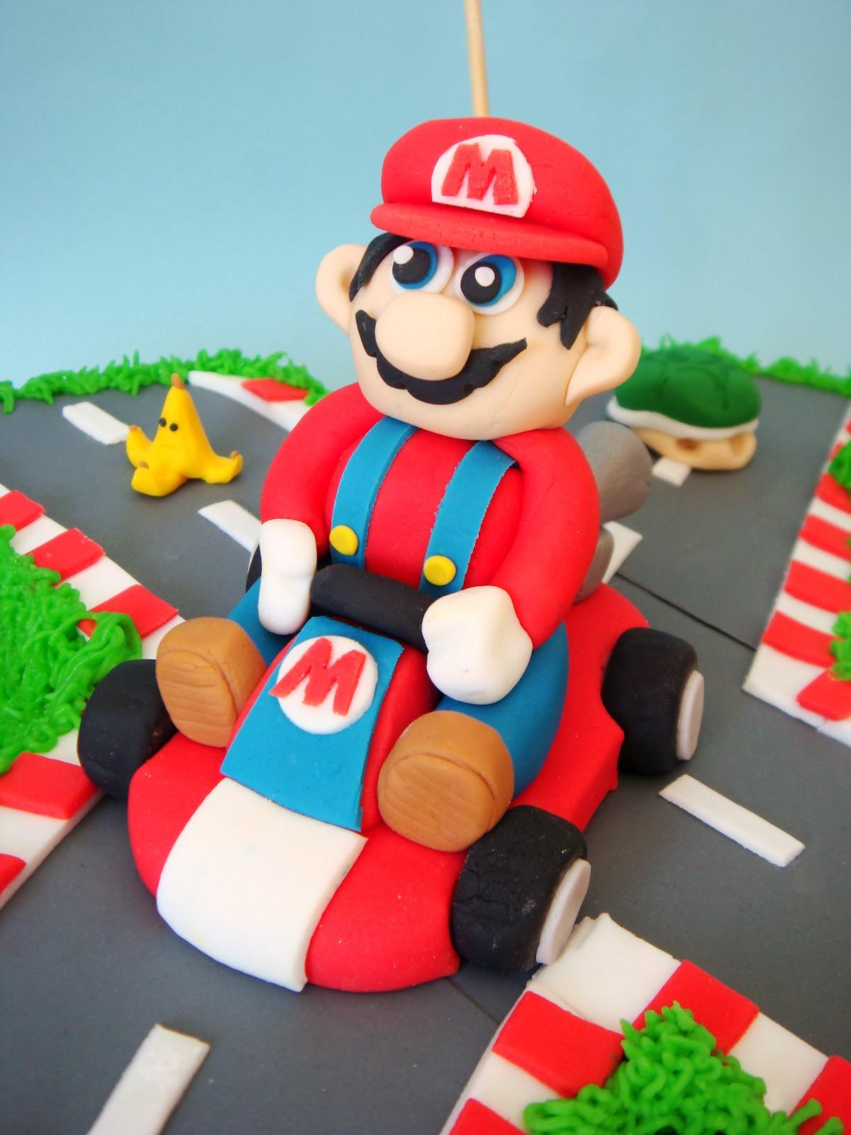Sorry Mario Kart Cake