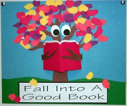 Fall Bulletin Board Ideas - library learners