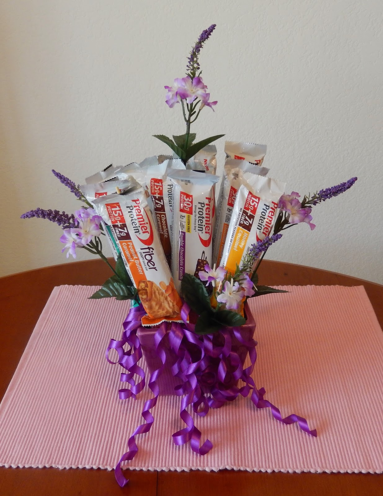 Premier%2BProtein%2BBar%2BThe%2BWorld%2BAccording%2Bto%2BEggface%2BMothers%2BDay%2BBouquet%2BBirthday Weight Loss Recipes DIY Craft Project: Protein Bar Bouquet