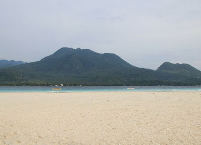 The finest of Camiguin Island is their white sand