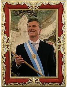 Presidente de la Nación Argentina            Ing. Mauricio Macri