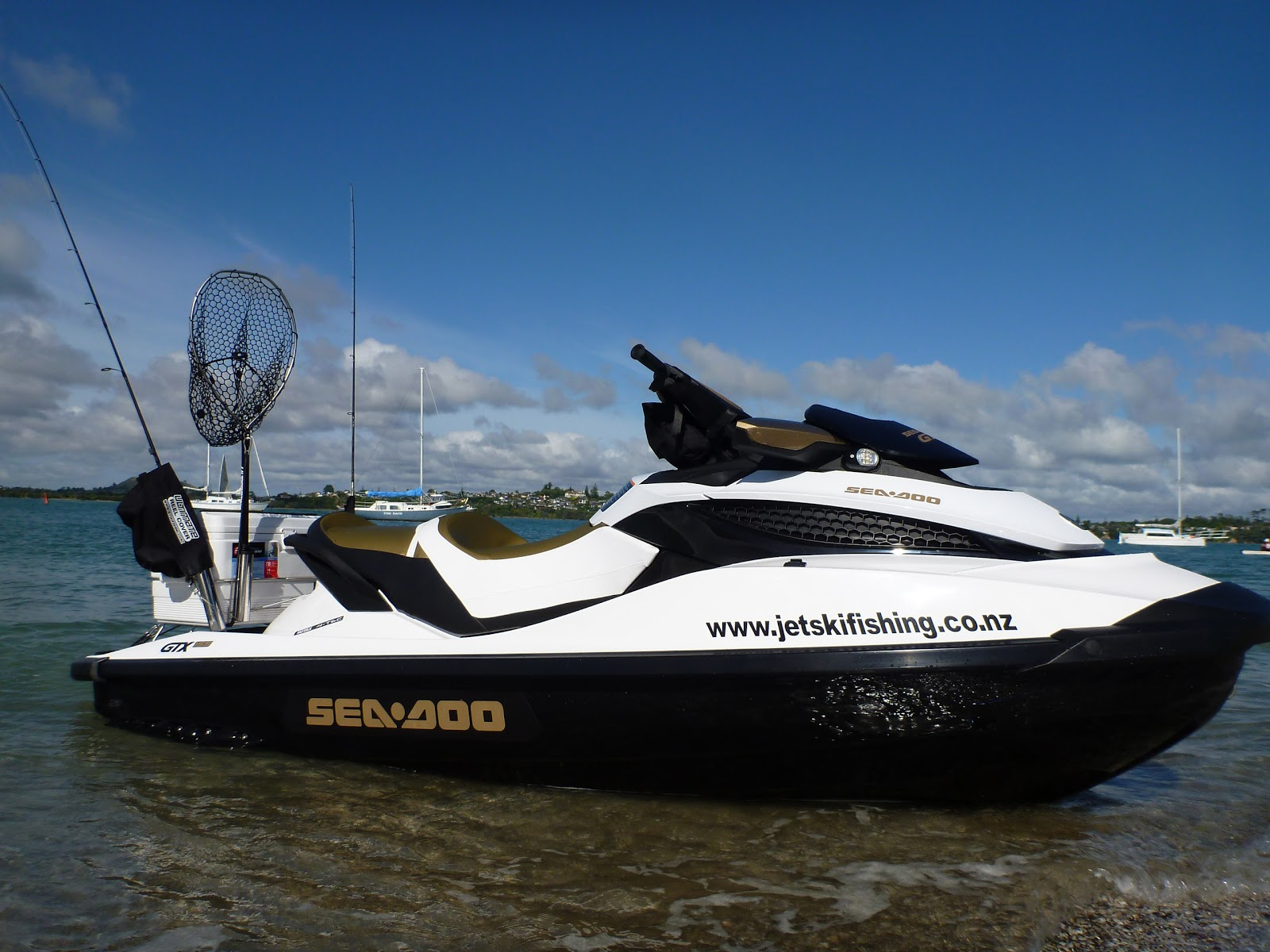 Jet ski fishing blog report 089 the latest addition to for Jet ski fishing accessories