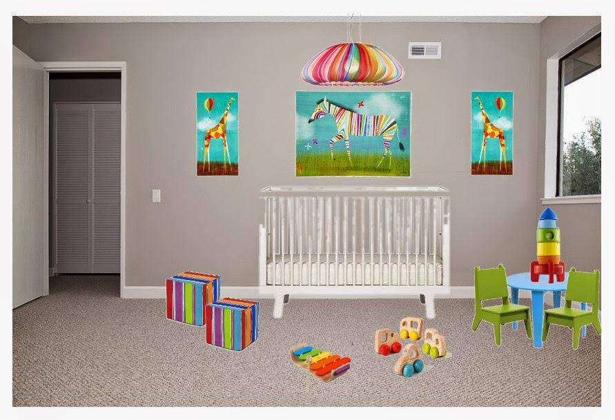White Street Market Build Your Own Room 1 Rainbow Nursery