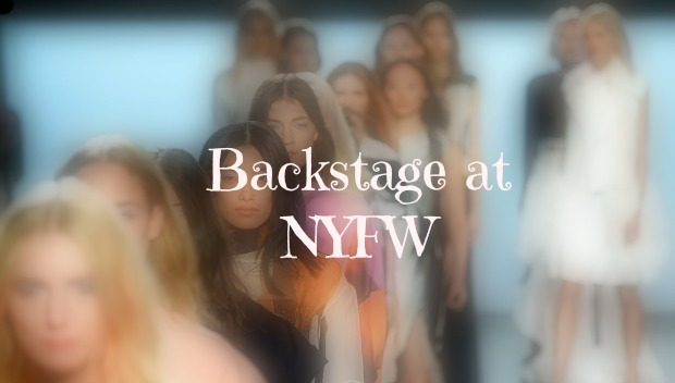 best backstage fashion style looks new york fashion week september 2014