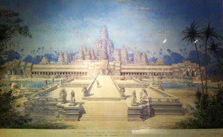 exposition Angkor musee Guimet dessin