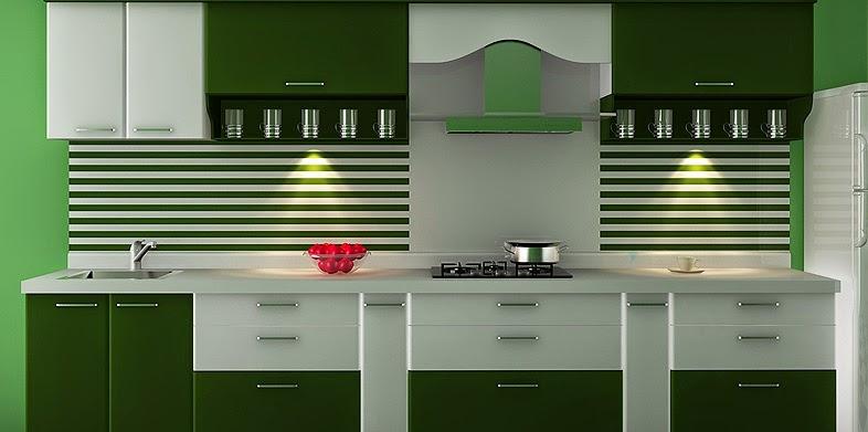 Aamoda kitchen straight modular kitchen for Straight line kitchen designs