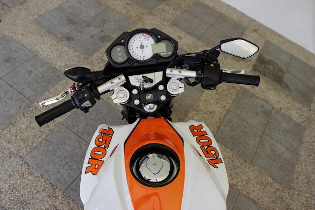 Modifikasi Honda CB150R Stang