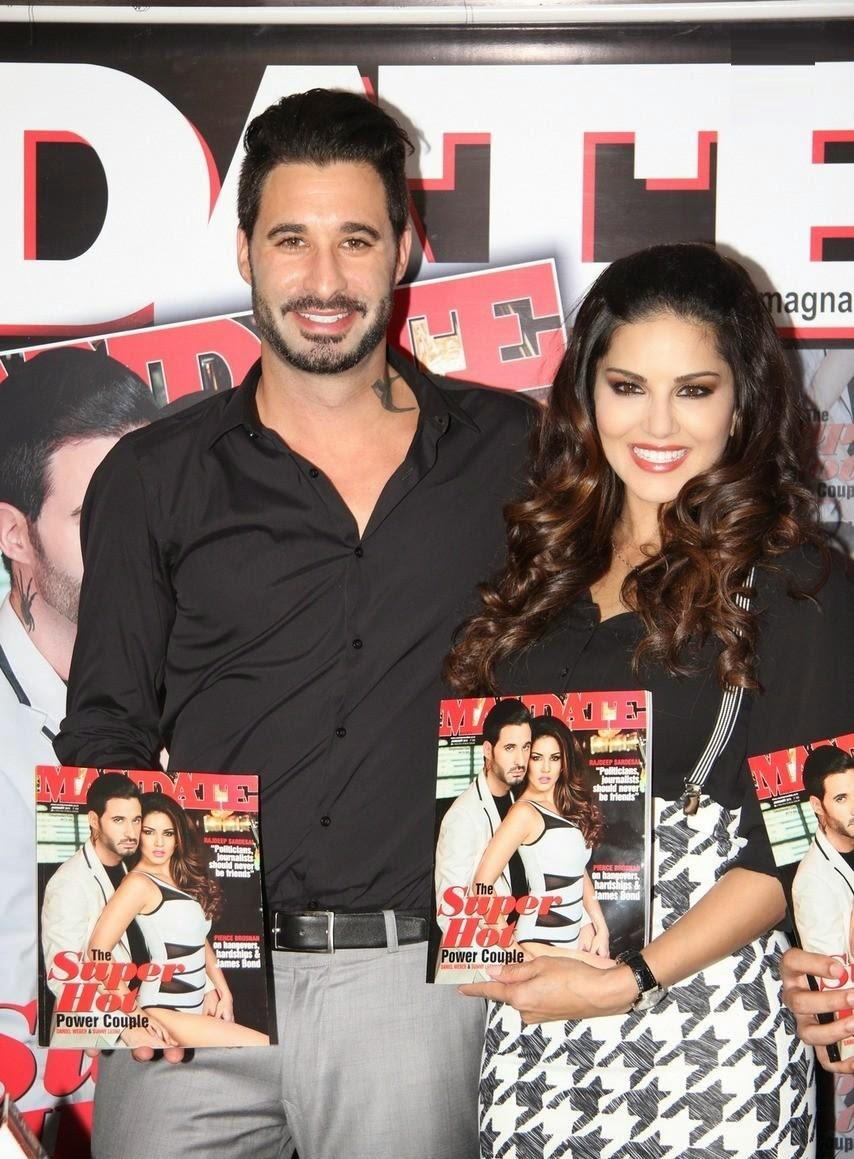 Sunny leone launche mandate january issue