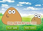Pou Memory Match