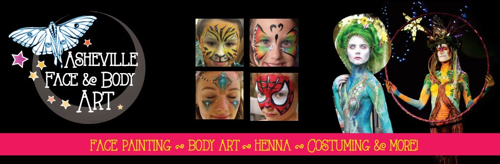 Gypsy face & body Art