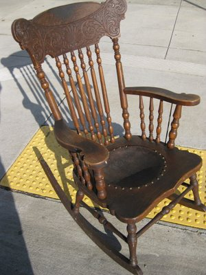 antique rocking chair styles houses plans designs