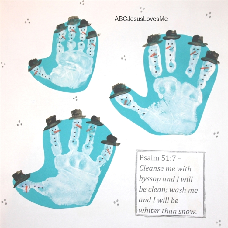 ... needing the perfect Christmas gift??? Create your own Handprint