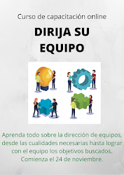 """CURSO DE CAPACITACIÓN ONLINE """"DIRIJA SU EQUIPO"""""""