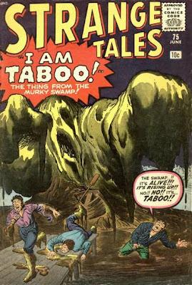 Strange Tales, Taboo