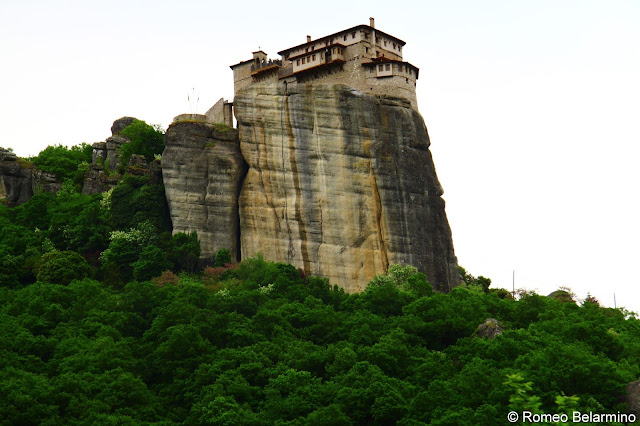 Roussanou Monastery Meteora Central Greece Attractions