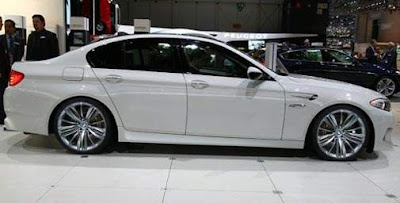2012 BMW M5 Saloon Side