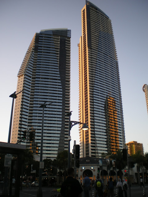 Buildings in Surfers Paradise, Australia