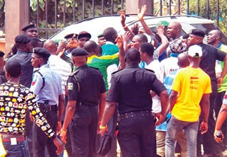 cultists attack apc rally