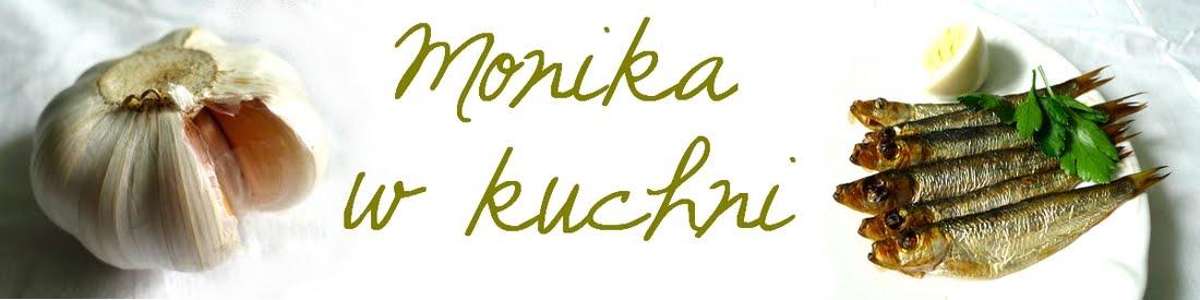 Monika w kuchni