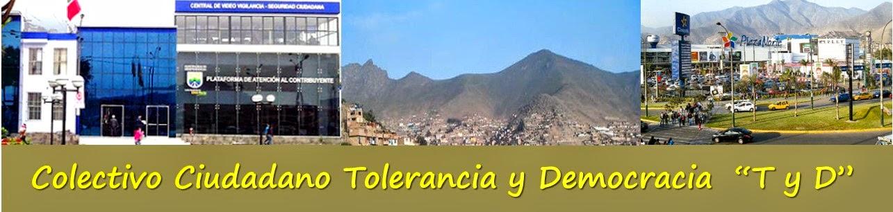 """Colectivo Ciudadano Tolerancia y Democracia """"T y D"""""""